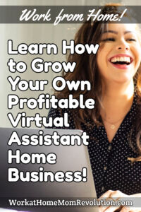 virtual assistant home business pin