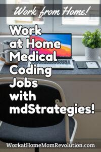work at home medical coding jobs mdStrategies