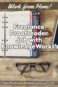 freelance proofreader job KnowledgeWorks