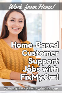 home-based customer support jobs fixmycar