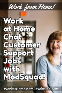 Work at Home Cybersecurity Chat Customer Support Jobs with ModSquad